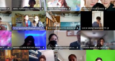Bate-papo com os alunos do Instituto Valle-Inclán